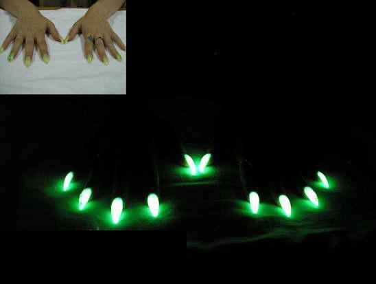 Как сделать лак который светится в темноте